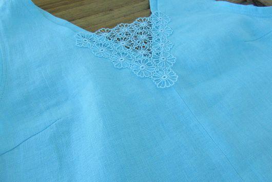 Платья ручной работы. Ярмарка Мастеров - ручная работа. Купить Платье из льна. Handmade. Лен, платье из льна, лето