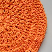 """Подставки ручной работы. Ярмарка Мастеров - ручная работа Подставка под горячее """"Апельсинка"""".. Handmade."""