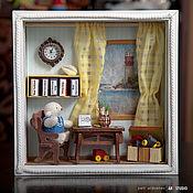 Куклы и игрушки ручной работы. Ярмарка Мастеров - ручная работа Маленький смотритель маяка. Handmade.