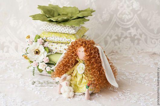 Куклы Тильды ручной работы. Ярмарка Мастеров - ручная работа. Купить Принцесса на горошине Заинька. Handmade. Разноцветный, подарок подруге