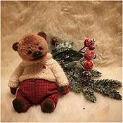 Куклы и игрушки ручной работы. Ярмарка Мастеров - ручная работа Димка толстенький животик. Handmade.