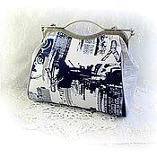 Сумки и аксессуары handmade. Livemaster - original item Handmade bag in urban style with adjustable handle. Handmade.
