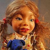 """Куклы и игрушки ручной работы. Ярмарка Мастеров - ручная работа Шарнирная кукла """"Машенька"""". Handmade."""