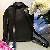 Рюкзаки ручной работы. Ярмарка Мастеров - ручная работа Рюкзак Классический черный. Handmade.
