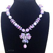 Винтаж handmade. Livemaster - original item Necklace Miriam Haskell, Us 50-60.. Handmade.