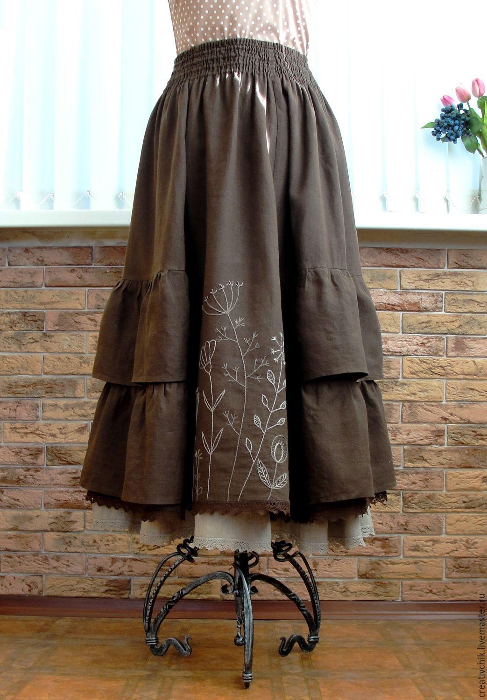 Юбки с бантами Варианты оформления юбки бантом Как украсить длинную юбку своими руками