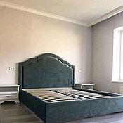 Кровати ручной работы. Ярмарка Мастеров - ручная работа Кровать с фигурным изголовьем. Handmade.