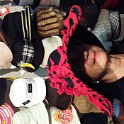 """Аксессуары ручной работы. Ярмарка Мастеров - ручная работа Шляпа с """"Камеей"""" фетровая черная  с большими полями. Handmade."""