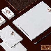 """Дизайн и реклама ручной работы. Ярмарка Мастеров - ручная работа Фирменный стиль """"Рубин"""". Handmade."""
