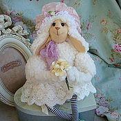Куклы и игрушки ручной работы. Ярмарка Мастеров - ручная работа Барышня-овечка ( сестра). Handmade.