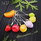 Материалы для творчества handmade. Livemaster - original item Markers for knitting needles 1437. Handmade.