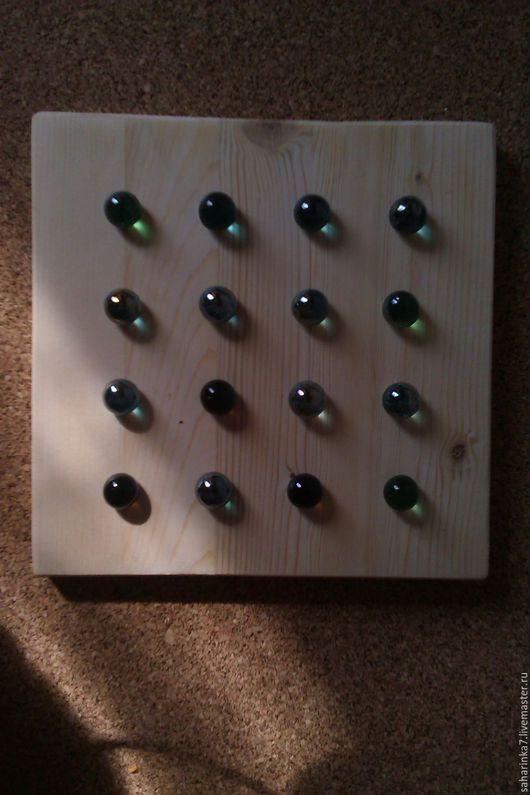 Развивающие игрушки ручной работы. Ярмарка Мастеров - ручная работа. Купить доска для выкладывания шариков. Handmade. Счетный материал