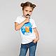 """Одежда для девочек, ручной работы. Заказать футболка """"Капитан"""". Petite Princesse. Ярмарка Мастеров. Шарики, детская футболка, для принцессы, чихуахуа"""