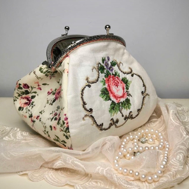 Авторская сумочка в ретро стиле, Косметички, Москва,  Фото №1