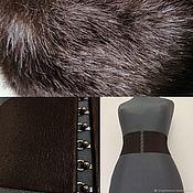 Аксессуары handmade. Livemaster - original item belt-elastic band Chocolate Dark brown 40, 50, 60, 70, 80, 95. Handmade.
