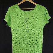 Одежда ручной работы. Ярмарка Мастеров - ручная работа летнее платье Лайм. Handmade.