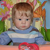 Куклы и игрушки ручной работы. Ярмарка Мастеров - ручная работа Кукла реборн Мирошка. Handmade.