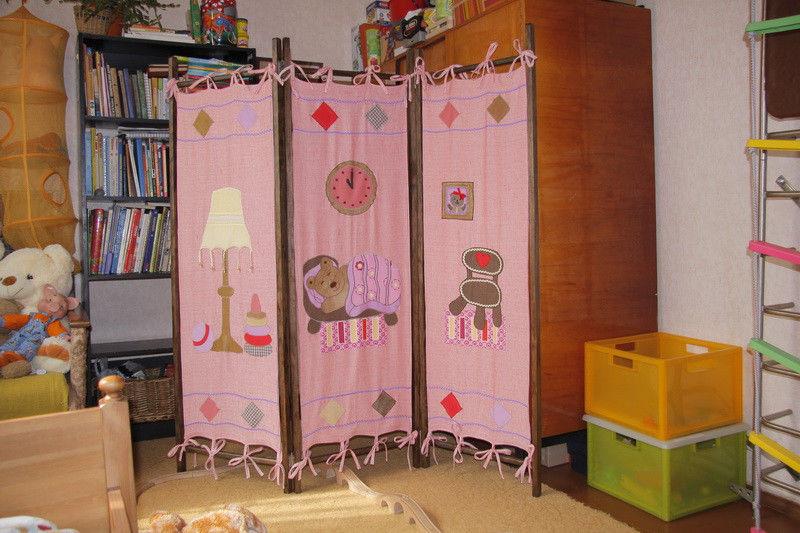 Ширма в детскую комнату
