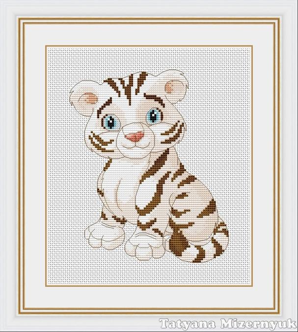 """крестиком """"Белый тигр""""."""