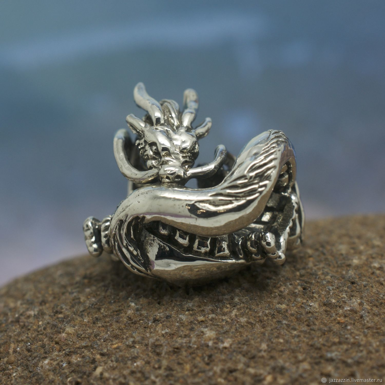 All for Jewelry Making handmade. Livemaster - handmade. Buy River dragon charm.Anime, haku, river dragon