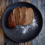 Тарелки ручной работы. Ярмарка Мастеров - ручная работа Обожженное деревянное блюдо. Handmade.