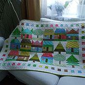 Для дома и интерьера handmade. Livemaster - original item Children`s patchwork quilted bedspread