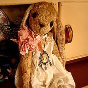 Куклы и игрушки handmade. Livemaster - original item Teddy Animals: Teddy-Bunny