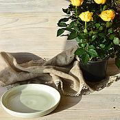 """Посуда ручной работы. Ярмарка Мастеров - ручная работа Тарелка """"Вода"""". Handmade."""
