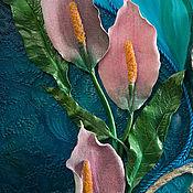 Картины и панно handmade. Livemaster - original item Oil painting with a vase