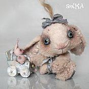 """Куклы и игрушки ручной работы. Ярмарка Мастеров - ручная работа Зайка """"Ака"""". Handmade."""