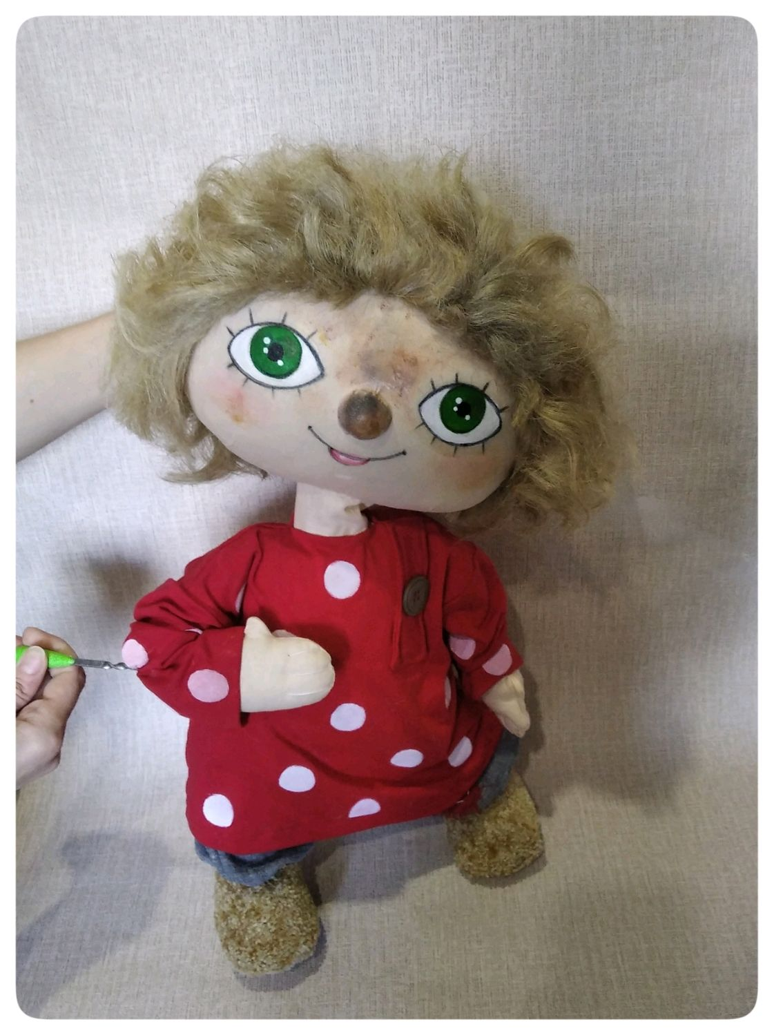 The puppet theatre.Tablet doll Hare, Puppet show, Orel,  Фото №1