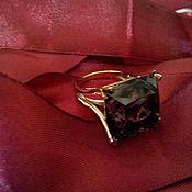 Украшения ручной работы. Ярмарка Мастеров - ручная работа Сделать  Золотое кольцо с аметистом. Handmade.
