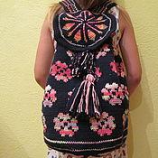 Сумки и аксессуары ручной работы. Ярмарка Мастеров - ручная работа вязанные рюкзаки. Handmade.