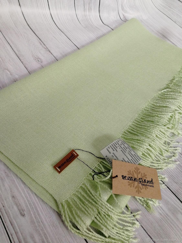 Handmade woven scarf made of Italian yarn silk, Scarves, Rubtsovsk,  Фото №1
