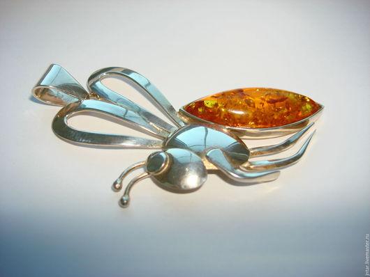 """Кулоны, подвески ручной работы. Ярмарка Мастеров - ручная работа. Купить кулон-подвеска """"МОШКА"""", серебро 925. Handmade."""