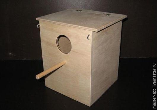 Гнездовой домик для неразлучников и волнистых попугаев