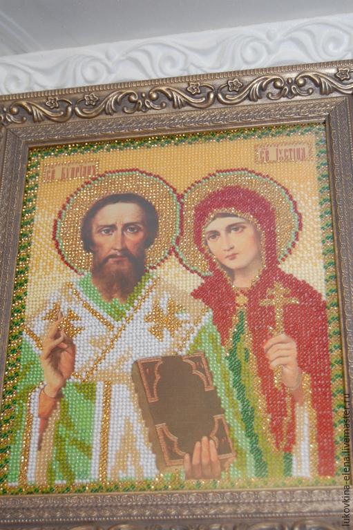 Икона Св. Киприан и Иустина
