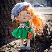 """Куклы и игрушки ручной работы. Ярмарка Мастеров - ручная работа Авторская кукла """"Парижанка"""". Handmade."""