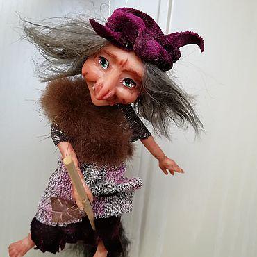 Куклы и игрушки ручной работы. Ярмарка Мастеров - ручная работа Куклы: Бобуличка Ягуличка. Handmade.