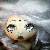 """Куклы и игрушки ручной работы. Ярмарка Мастеров - ручная работа Кукла текстильная ручной работы """"Принцесса мрачная"""". Handmade."""