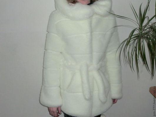 Верхняя одежда ручной работы. Ярмарка Мастеров - ручная работа. Купить Шубка под норку.. Handmade. Шуба одежда зима