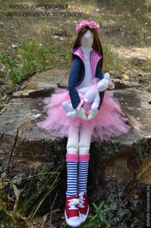 Куклы Тильды ручной работы. Ярмарка Мастеров - ручная работа. Купить Стефания.Текстильная интерьерная кукла в стиле Тильда.. Handmade.