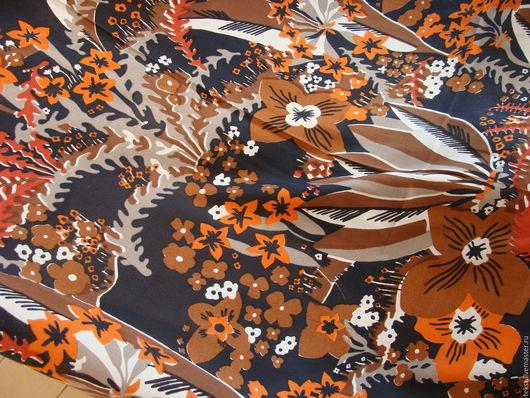 Шитье ручной работы. Ярмарка Мастеров - ручная работа. Купить 215 х 90 см. Ткань крепдешин, натуральный шелк.. Handmade.