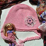 """Работы для детей, ручной работы. Ярмарка Мастеров - ручная работа детская шапочка """"Розовая мечта"""". Handmade."""