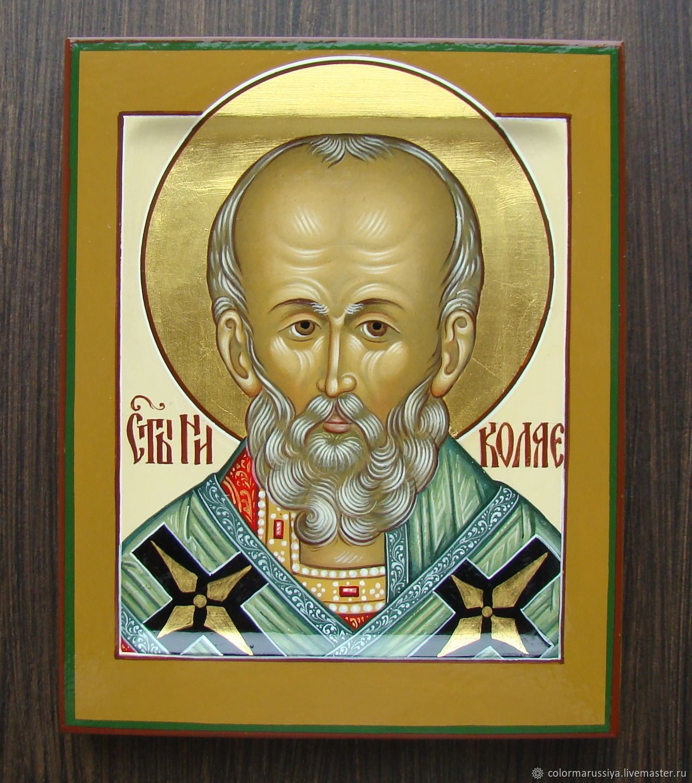 The icon of St. Nicholas (handwritten), Icons, Vyazniki,  Фото №1