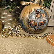 Подарки к праздникам handmade. Livemaster - original item Christmas gift winter. Handmade.