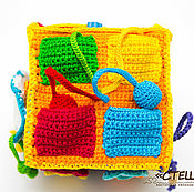 Развивающий кубик, развивающая игрушка, развивашка, развитие детей
