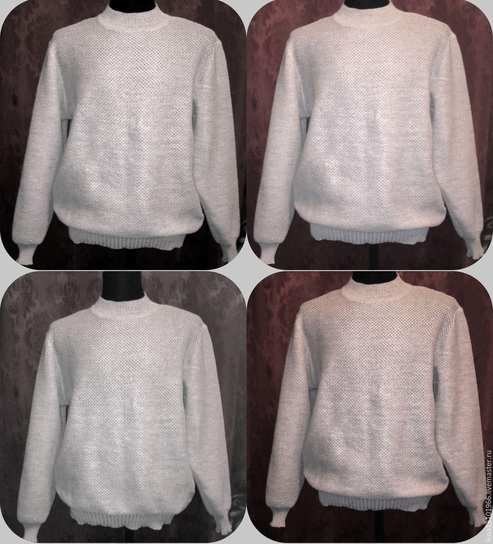 100% linen Men's cardigan 'Sasha', Mens jumpers, Kostroma,  Фото №1