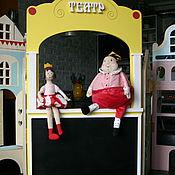 Для дома и интерьера ручной работы. Ярмарка Мастеров - ручная работа Ширма Театр.. Handmade.