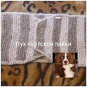 Аксессуары handmade. Livemaster - original item Belt 01 of dog down. Handmade.